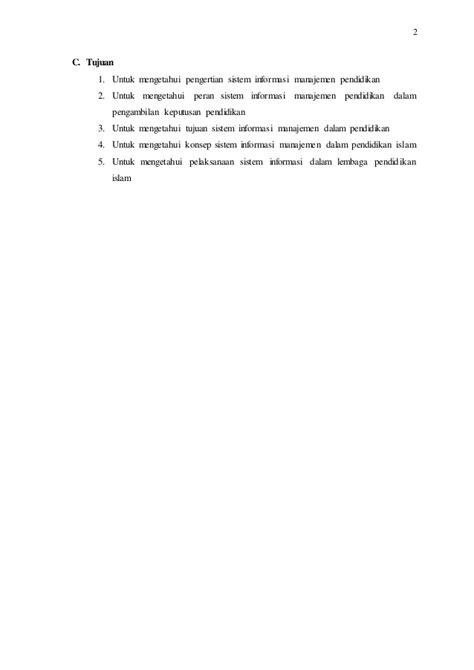 Sistem informasi manajemen pendidikan (konsep dan