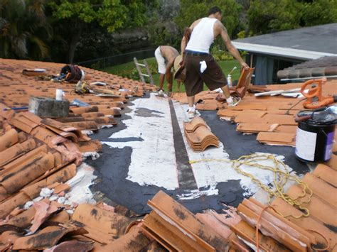 clay tile roof repair in miami lakes roofer mike inc