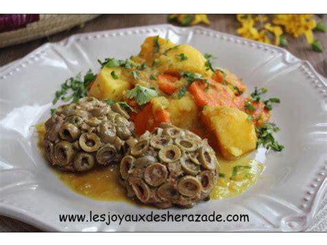 recette de cuisine algerienne cuisine alg 233 rienne viande hach 233 e aux olives