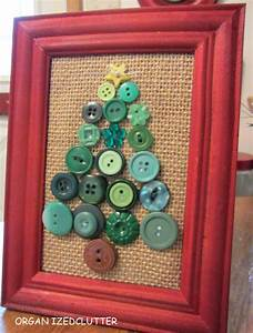 Hometalk framed postage stamp button christmas tree craft for Kitchen colors with white cabinets with postage stamp wall art