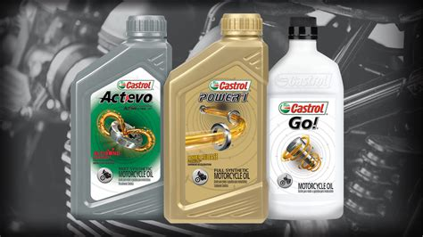 Motorcycle Oil & Fluids