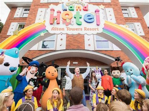 cbeebies land hotel review inside alton towers kid