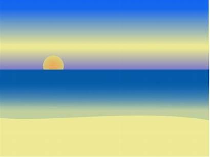Sunrise Clipart Beach Clouds Clip Chatard Clipground