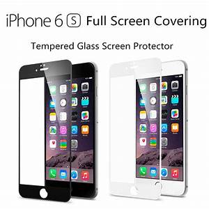 Film Iphone 6 : full screen coverage tempered glass screen protector film iphone 6s 6s plus 6 ebay ~ Teatrodelosmanantiales.com Idées de Décoration