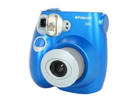 Polaroid 300 Instant Blue by Polaroid Pic 300 Blue Instant Newegg