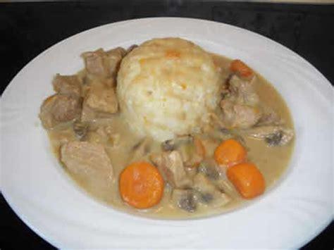 recette de cuisine blanquette de veau blanquette de veau avec cookeo recette facile pour vous