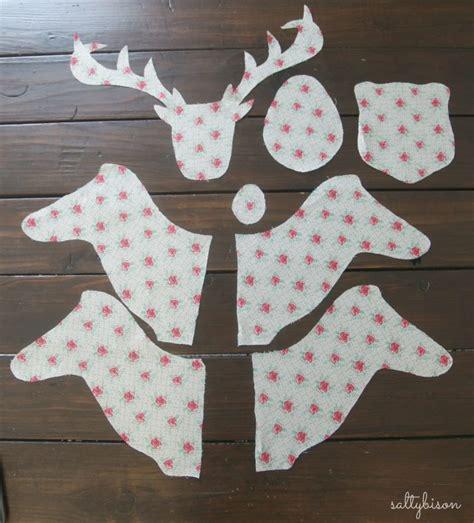 exclusive photo  reindeer sewing pattern deer heads