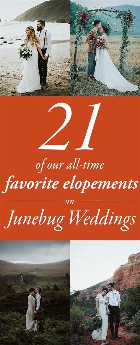 junebug weddings our top 21 favorite elopements on junebug weddings junebug weddings