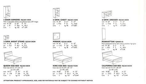 Standard Bedroom Furniture Dimensions  Bedroom Furniture