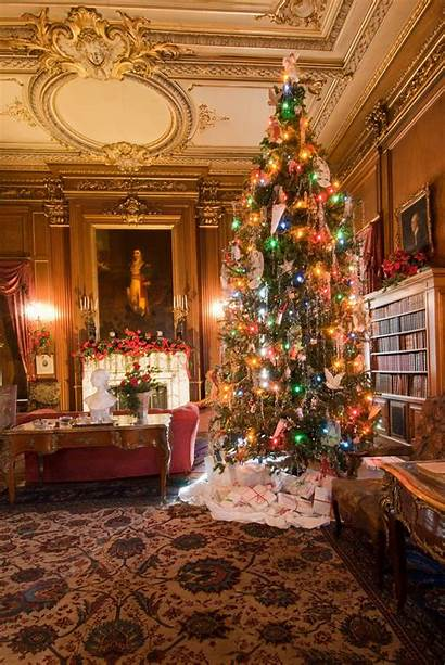 Christmas Decorated Staatsburgh Historic Gilded Decorations Site