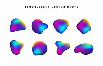 Shapes Colorful Vector Abstract Gradient Modern Vivid