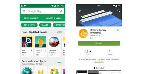 La Google Play Store Estrena Interfaz Para Dispositivos