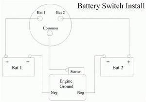 Perko Marine Battery Switch Wiring Diagram