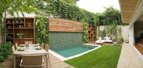 dise 241 o de patios peque 241 os con piscina ideas deco new