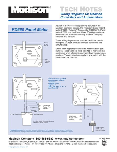 wiring diagrams for controllers and annunciators by marketing department issuu