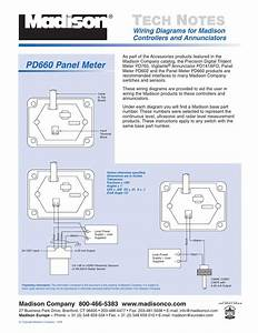 Wiring Diagrams For Madison Controllers And Annunciators