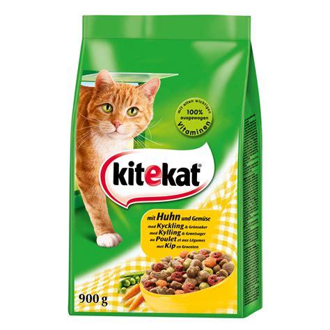kitekat trockenfutter fuer ausgewachsene katzen von