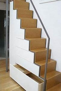Treppe Mit Schubladen : praktischer treppenschrank ausbau hausideen so wollen wir bauen in 2019 escada escada ~ Watch28wear.com Haus und Dekorationen