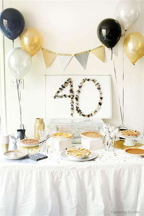 Surprise 40th Birthday Party  Capturing Joy With Kristen Duke