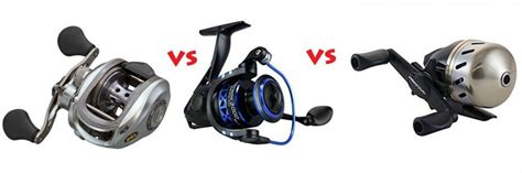 fishing reel types explained baitcast  spinning
