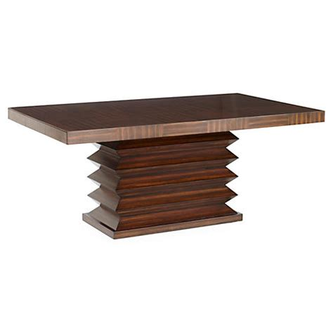 single leg dining table dining tables one kings lane