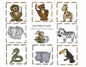 At the Zoo Part 2 Printable ~ Preschool Printables