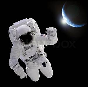 Astronaut in space | Stock Photo | Colourbox