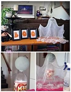 Diy, Simple, Floating, Ghost, For, Halloween
