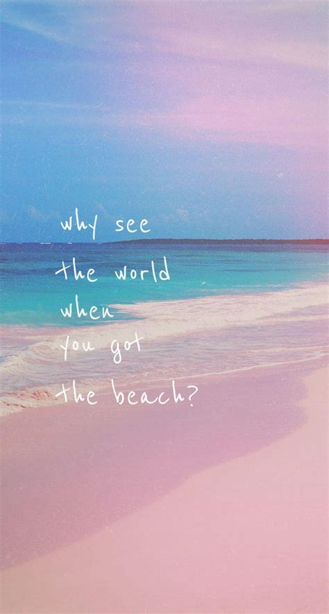 Beach Quotes Wallpapers Wallpaper Cave