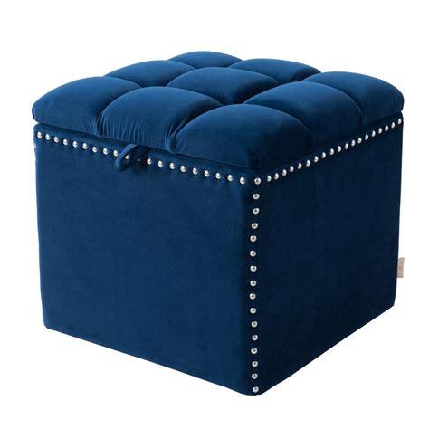 Blue Ottoman Storage by Navy Blue Storage Ottoman 2361 859
