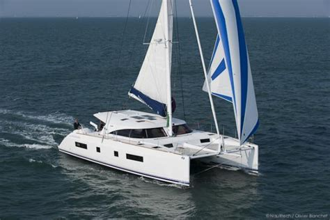 Catamaran Gif by Nautitech 542 Launched Recently In Rochefort Yacht Boat