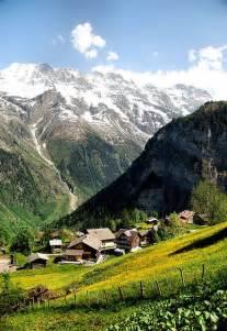 Murren Switzerland Valley