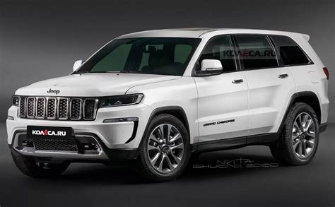 We may earn money from the links on this page. Premières images du Jeep Grand Cherokee prévu pour 2021 ...