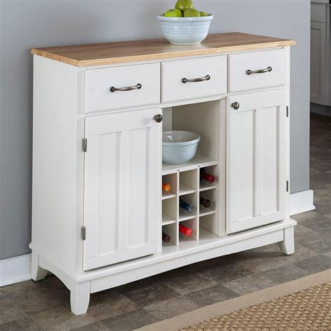 Sideboards For Kitchens by Wood Top Kitchen Island Sideboard Cabinet Wine