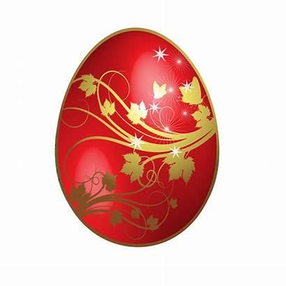 Easter Egg Gold Flowers Clipart Golden Happy
