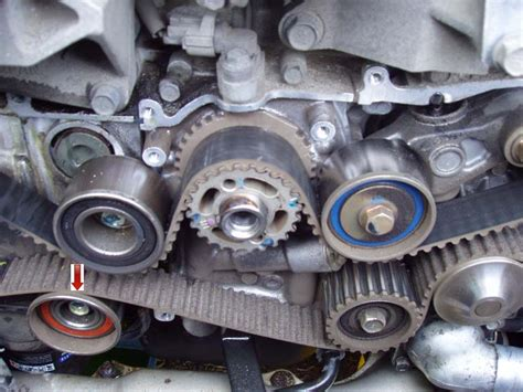 how to s timing belt and water replacement