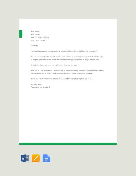 email examples samples  microsoft word