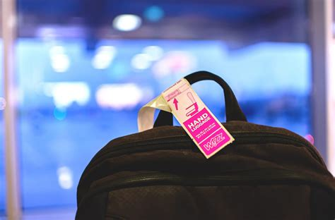 wizz air launches  luggage policy