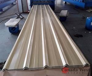 unused 40 sheets steel siding roofing 29 gauge 16 ft beige With 29 gauge steel siding