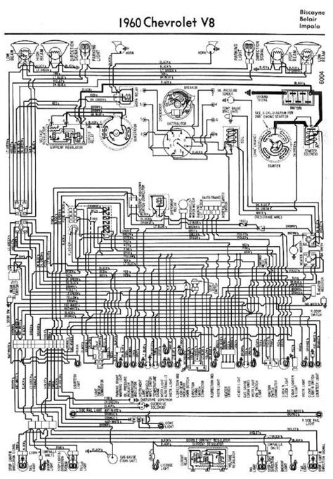 Electrical Wiring Diagram For Chevrolet Biscayne