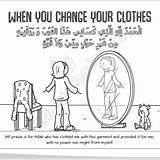 Dua Hafsa Colouring Jamal Pdf Sample Islamic Comics sketch template