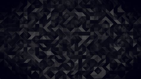 Abstract Black Wallpaper 4k by Wallpaper Triangles 3d Pattern 4k Abstract 12241