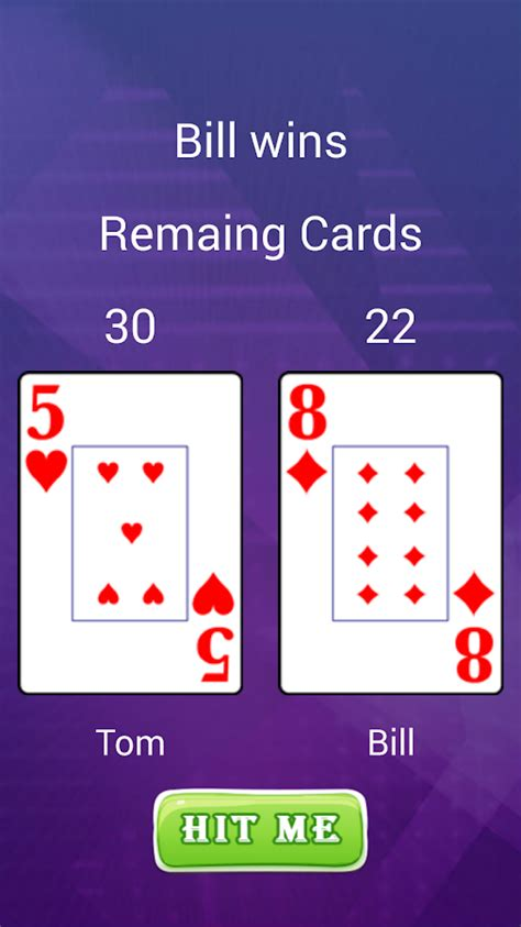 2 player card 2 player card game android apps on google play