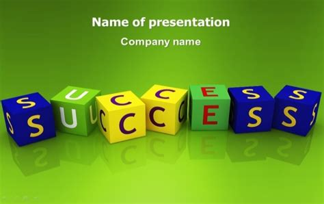 Success Powerpoint Templates Free by Pptstar Provides Amazing Presentation Templates For