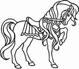 Coloring Pages Horses Printable Horse Fun Sheets Source sketch template