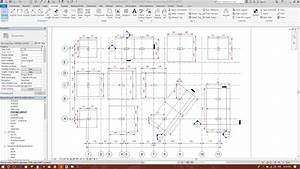 Dimension For Footing Layout Plan In Revit Structure