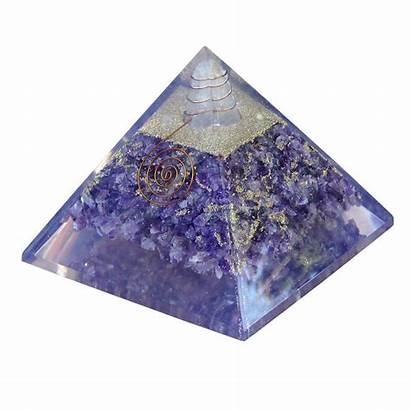 Orgonite Crystals Amethyst Pyramids Pyramid