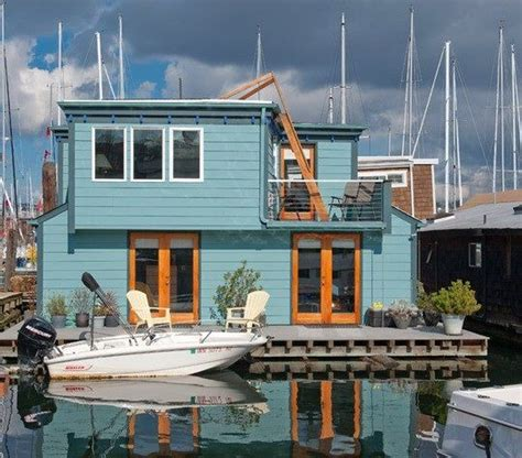 Living On A Boat In Seattle by 53 Best Homes On Water Images On Floating