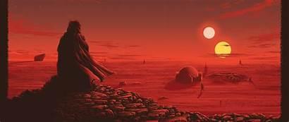 Wars Concept Resolution Wallpapers Movies Skywalker Obi