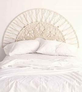 Tete De Lit Blanche : les 25 meilleures id es de la cat gorie tete de lit ~ Premium-room.com Idées de Décoration